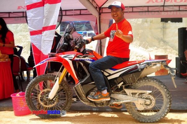 Wiro dan Honda CRF250 Rally