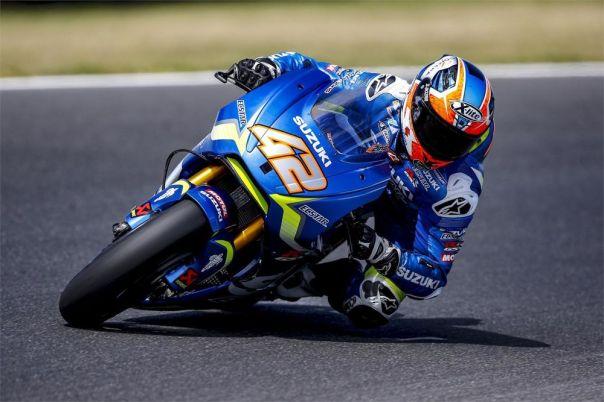 Alex Rins Suzuki Ecstar motoGP Philips Island
