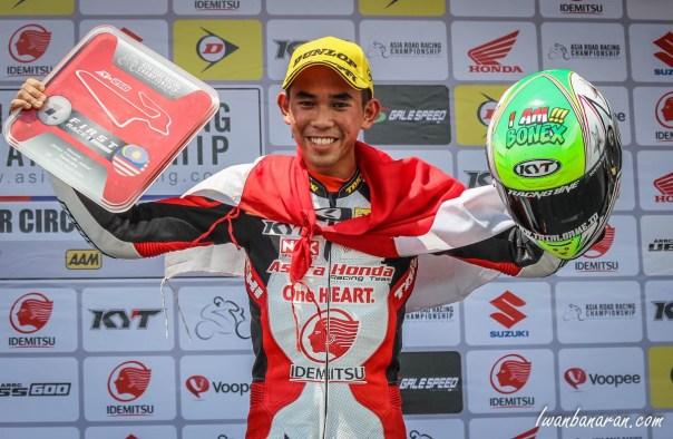 Gerry Salim AHRT Juara 1 Johor Malaysia