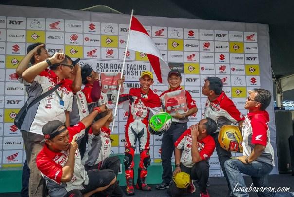 Gerry Salim AHRT Juara 1 Johor Malaysia_bersama team