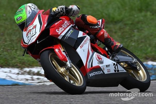 Gerry Salim Tim AHRT Honda CBR250RR di AP250 ARRC 2017 juara 1