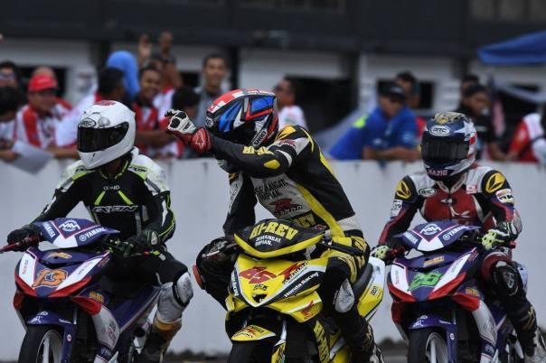 Honda Supra GTR150 Juara UB150 Race 1 Johor 2017