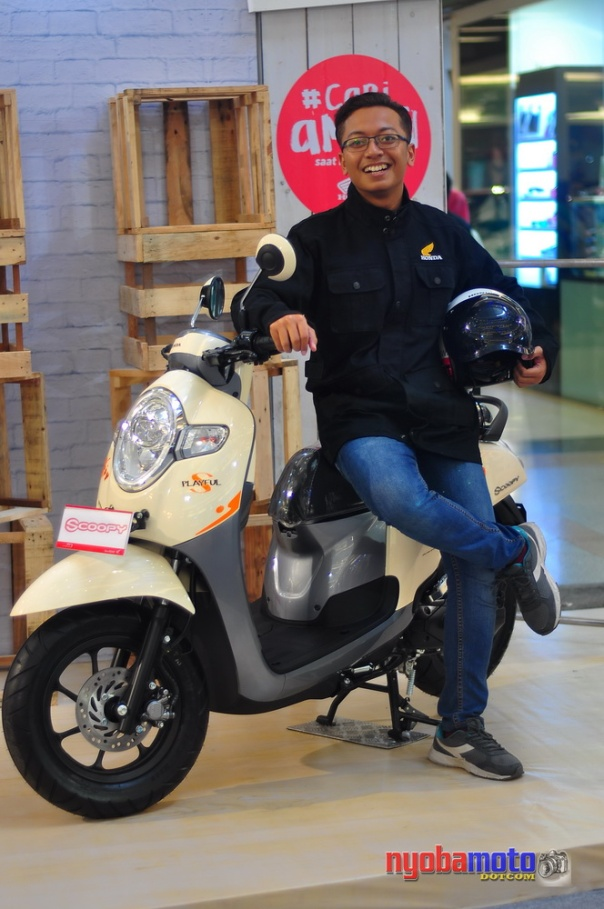Model All New Scoopy 2017