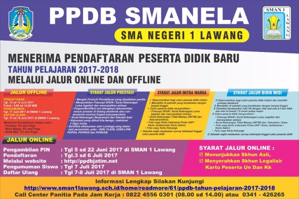 Banner Spanduk PPDB SMANELA