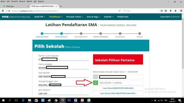 Cara Pendaftaran Online SMANELA 04