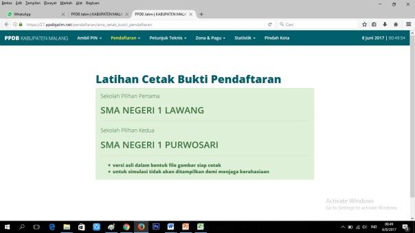 Cara Pendaftaran Online SMANELA 12