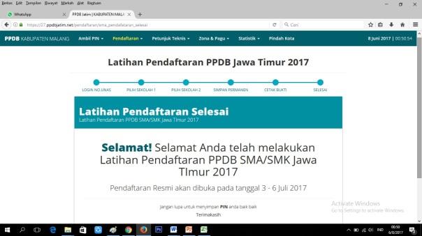 Cara Pendaftaran Online SMANELA 13