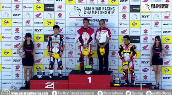 Gerry Salim dan para Juara AP250 Suzuka