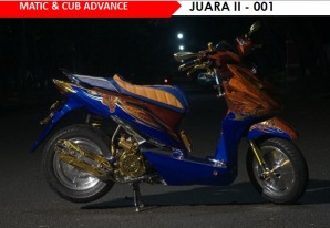 HMC - Matic & Cub Advance Juara II