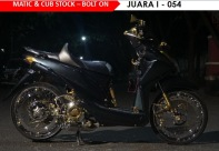 HMC - Matic & Cub Stock - Bolt On Juara I