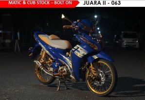 HMC - Matic & Cub Stock - Bolt On Juara II