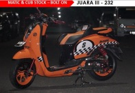 HMC - Matic & Cub Stock - Bolt On Juara III