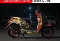 HMC - Matic & Cub Stock - Bolt On Juara IV