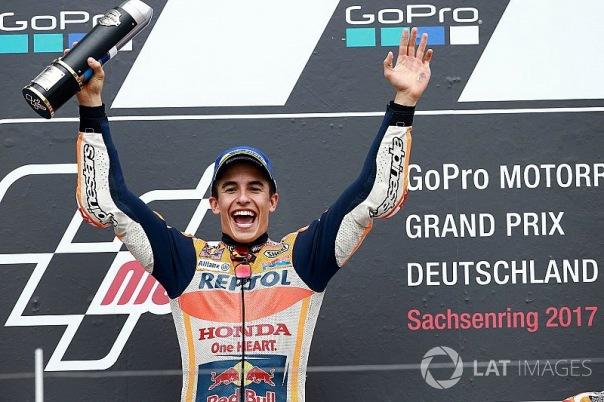 Marc Marquez Juara Sachsenring 2017