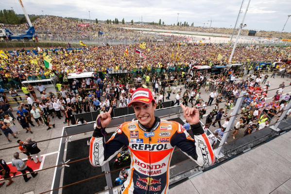 Marc Marquez Juara motoGP seri Misano 2017