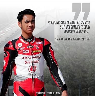 Pembalap AHRT 2-Andi Gilang Farid Izdihar