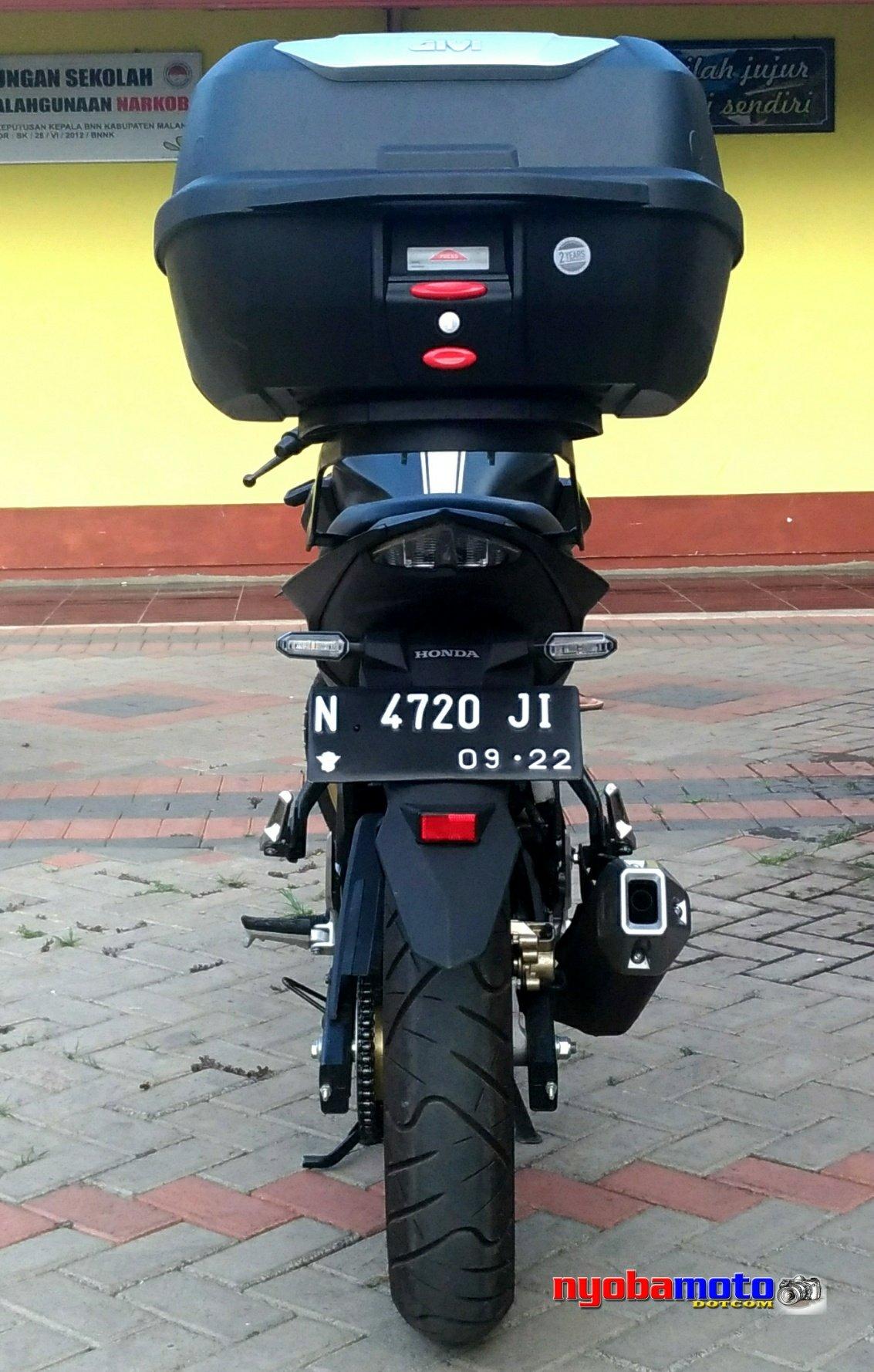 Uncategorized Wiro Nybamt All New Cb 150r Streetfire Stallion Black Kab Semarang Wiromotobox Givi E43 5
