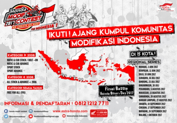 Final HMC di Honda Bikers Day 2017