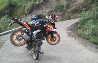 Motor mogok di Bromo_CBR