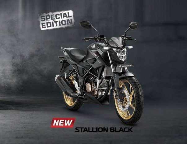 New-Honda-CB150R-2017-Stallion-Black Wiro Nyobamoto