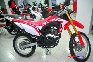 Jagoan baru Honda Indonesia --> CRF150L